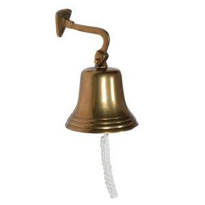 Antique Brass Small Wall Bell