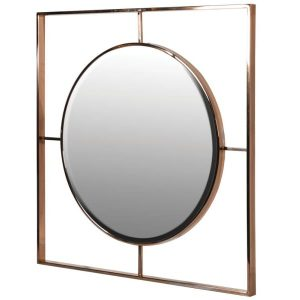 Circle In Square Mirror