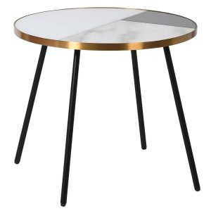 Mirror Marble Side Table
