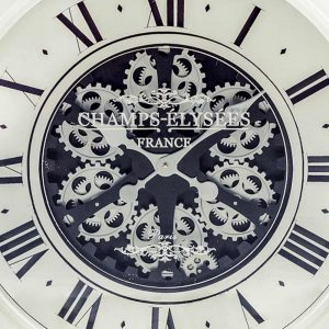 Antique-Cream-Mirrored-Face-Antique-Style-Moving-Gears-Clock1