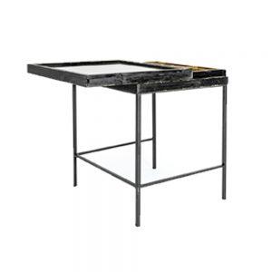 Antiqued-Black-Wooden-Large-Display-Side-Table