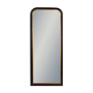 Black-with-Gold-Beaded-Dressing-Mirror