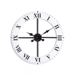 Medium-Black-and-White-Dial-Wall-Clock
