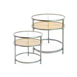 Metal-Rattan-Retro-Large-Side-Table