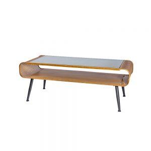 Rattan-Retro-Coffee-Table-With-Glass-Top
