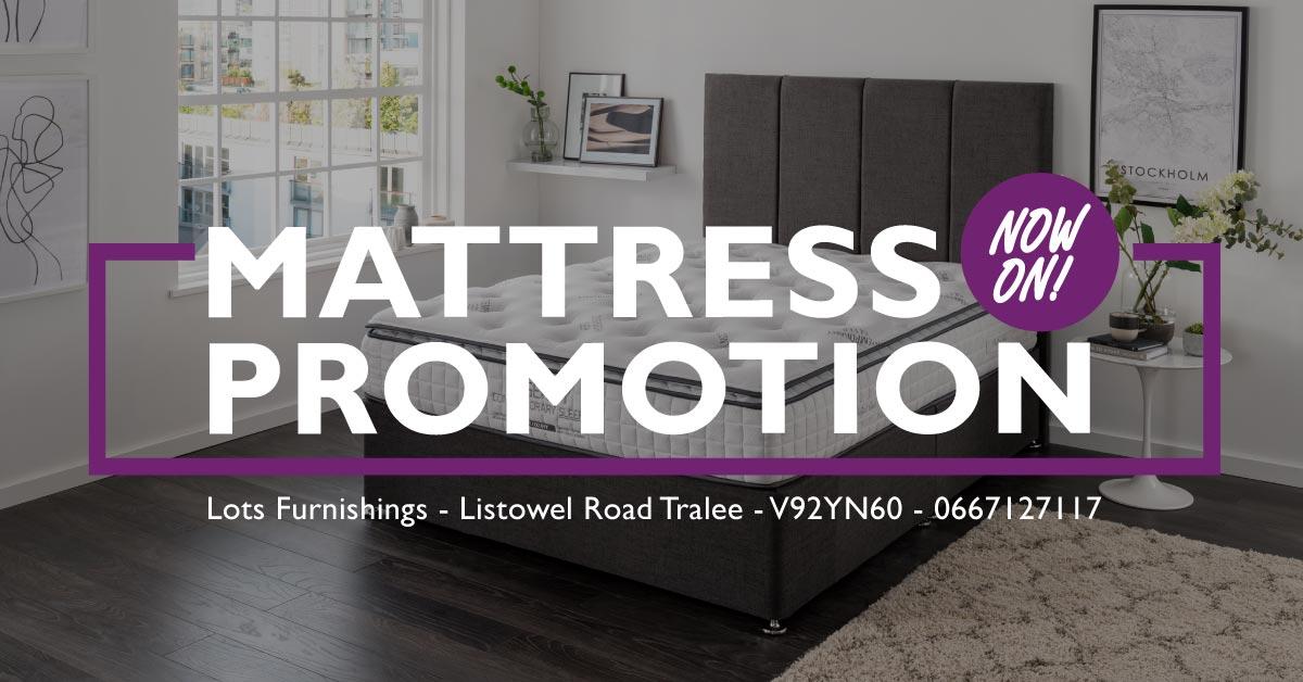 Mattress Promotion October 2021